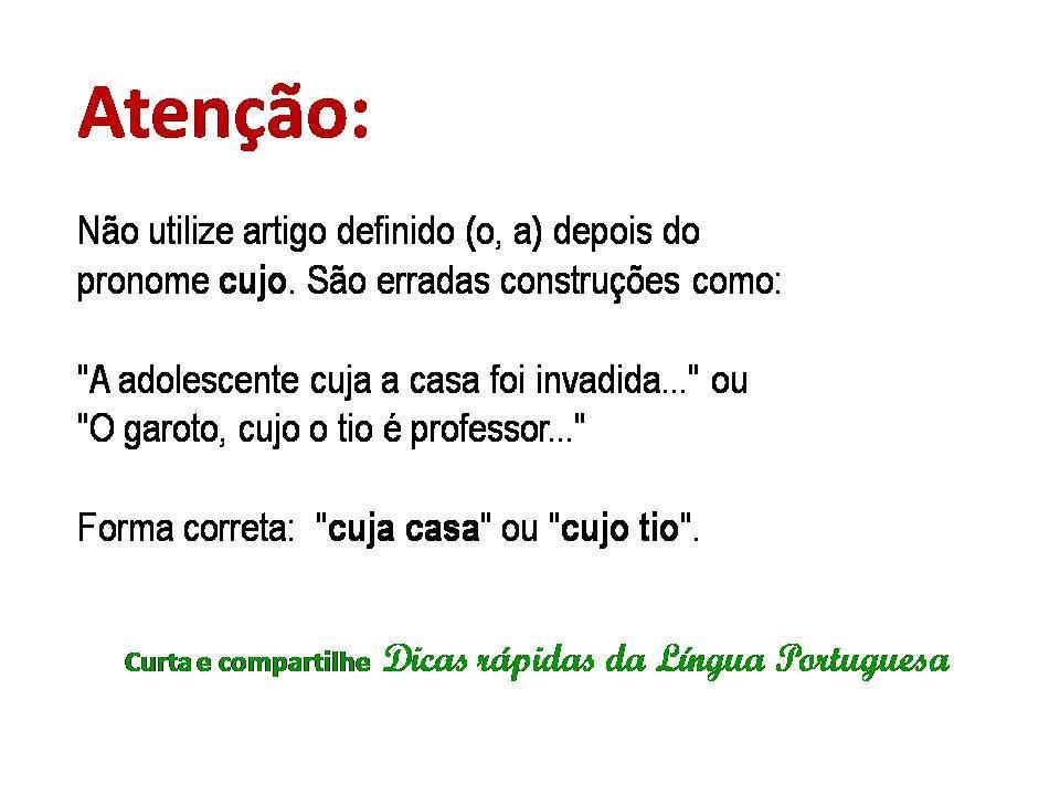 dicas de português, vestibular unasp