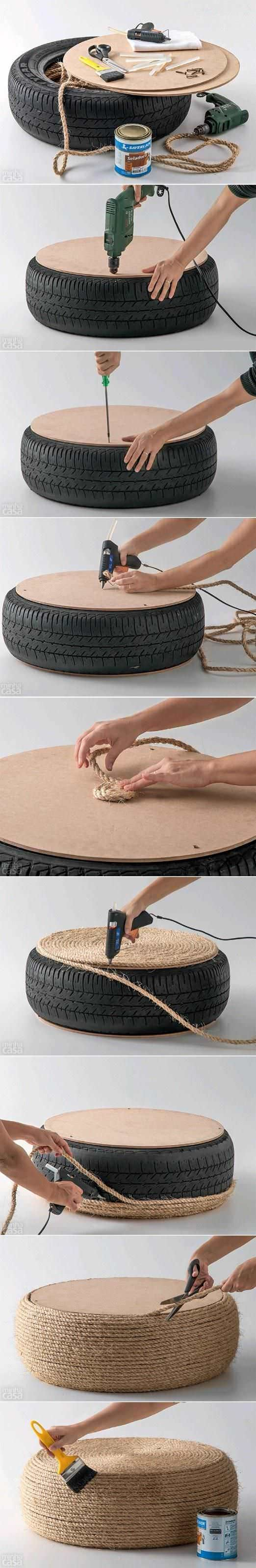 mesinha de pneu