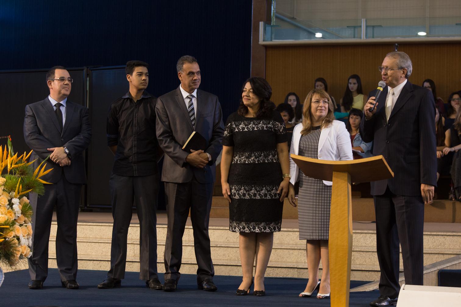 Família Maia é apresentada a comunidade do Unasp campus Hotolândia.