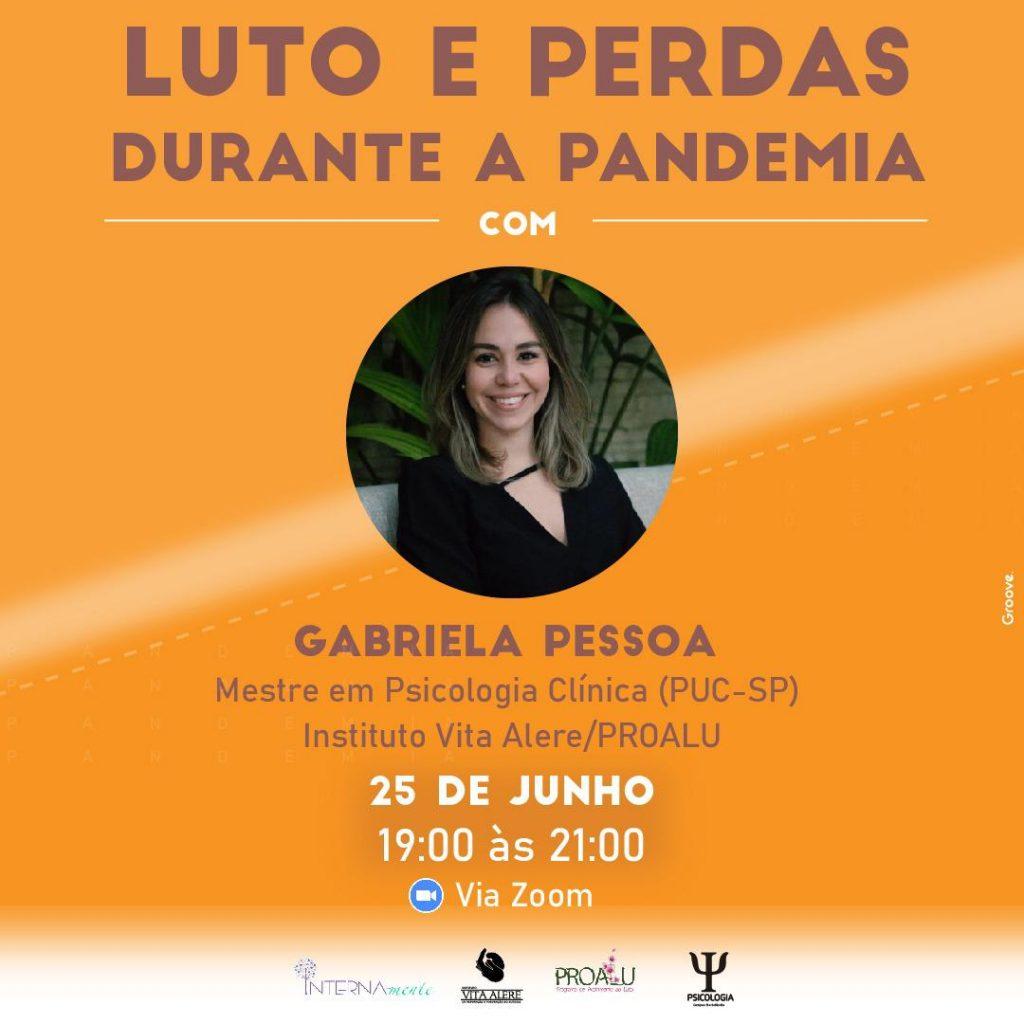 Convite do evento gratuito do curso de psicologia.