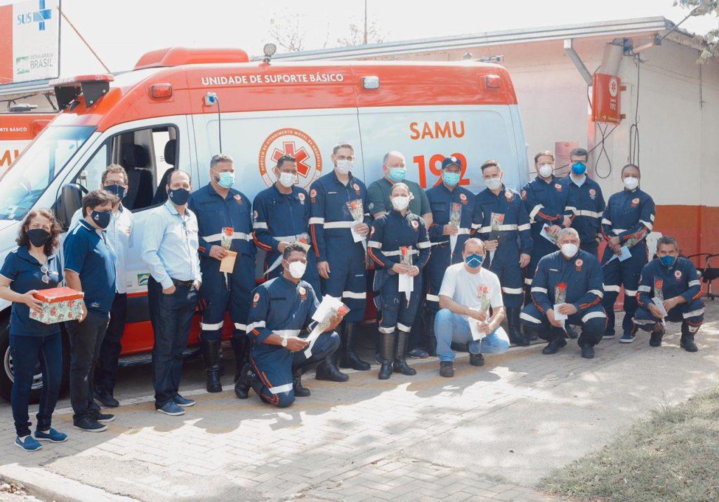 Equipe do SAMU Hortolândia